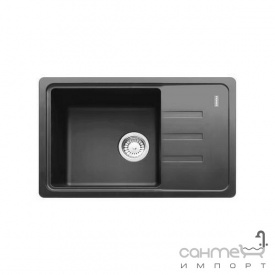 Кухонная мойка Adamant Slim 14 черный металлик