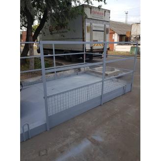 Зовнішня площадка для прийому вантажів Сер-Буд-Плюс