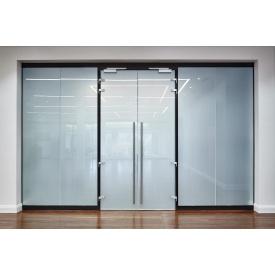 Стеклянная межкомнатная дверь BMS praktik Smart glass