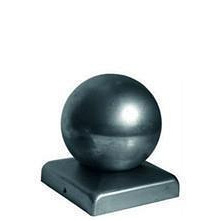 Заглушка 120х120 мм диаметр 100 мм