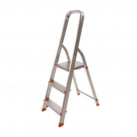 Драбина алюмінієва Laddermaster Vega A1B3 3 сходинки