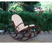 Кресло-качалка Олимп ЧФЛИ из ротанга 1200х650х1200 мм