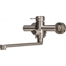 Смеситель для ванны GLOBUS LUX Wien SBT2-208 с душевым гарнитуром
