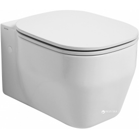 Унитаз AZZURRA Glaze GLZ100B1SOSK + сиденье дюропласт Soft Close GLZ1800F