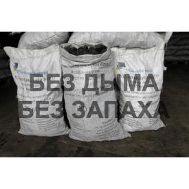 Каменный уголь казахстанский 40-80 мм фасованный 25 кг