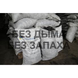 Уголь в мешках казахстанский 25 кг 50-100 мм