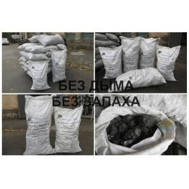 Уголь каменный марка Д казахстанский 13-100 мм мешок 25 кг