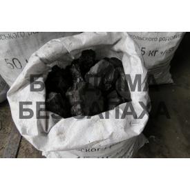 Уголь бурый казахстанский марка Б-3 40-80 мм 25 кг