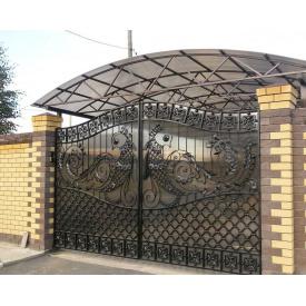 Кованые ворота распашные Legran