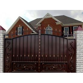 Ворота кованые закрытые Legran