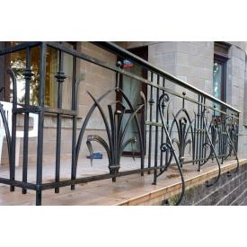 Перила зовнішні ковані для комерційної нерухомості Legran