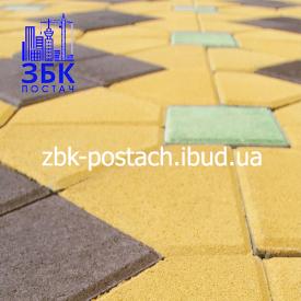 Тротуарна плитка Шатро 210х75х180 мм