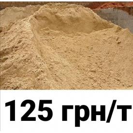 Пісок річковий навалом 1 т