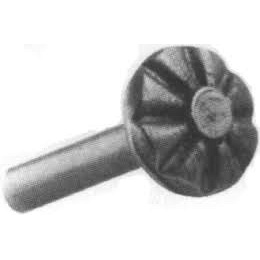 Заклепка 36х18 mm Ножка 6 mm