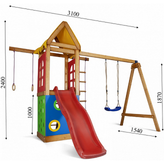 Дитячий ігровий комплекс Sportbaby Babyland-25