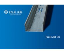 Профиль для гипсокартона CW-100 (0,4 мм) 3м