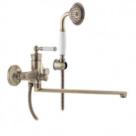 Смеситель для ванны MIXXUS PREMIUM VINTAGE Бронзовый 006 (MI2864)