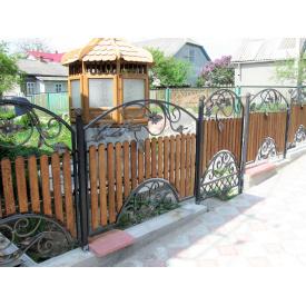 Забор кованый с деревом 1.80м Legran