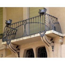 Кований балкон для будівництва Legran