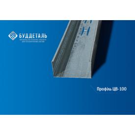 Профіль для гіпсокартону CW-100 (0,4 мм) 3м