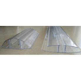 Профиль соединительный Н-образный 6 мм прозрачный