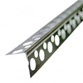 Кут сталевий перфорований 20х20, 0,4мм, 4м.