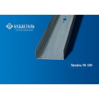 Профіль для гіпсокартонних систем UW-100 (0,4 мм) 3м.
