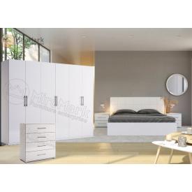 Спальня 6Д белый глянец Фемели Миро-Марк