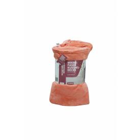 Плед-покрывало 150*200см персиковый K10-550597
