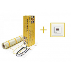Нагревательный мат In-Therm 1580w (7,9 м2 ) + подарок