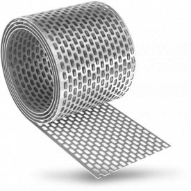 Решітка звису вентиляційна алюмінієва 100 мм EUROVENT EAVES GRATE ALU