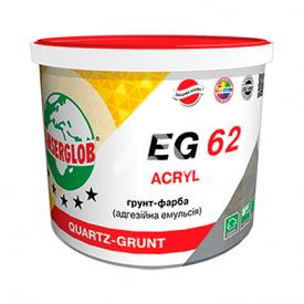 Эмульсия адгезионная грунт-краска с кварцевым песком Anserglob EG-62 акриловая 1,7 л