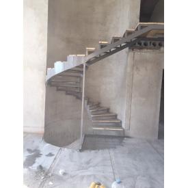 Виготовлення сходів з бетону