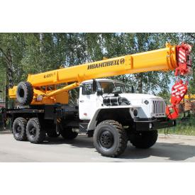 Автокран до 40 тонн Урал