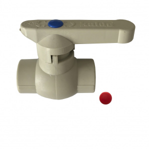 Кран шаровый(латунь) Kalde PPR ф75 21016