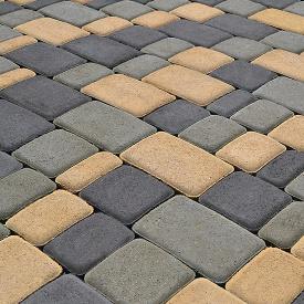 Тротуарна плитка Старе місто 60 мм