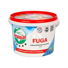 Водостойкий заполнитель швов для плитки Anserglob Fuga белый 1 кг