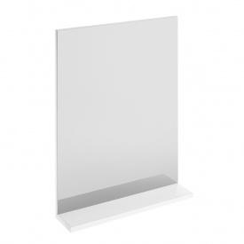 MELAR зеркало с белой полкой