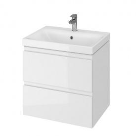 CET B12 MODUO шкафчик с умывальником MODUO 60 белый
