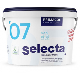 Краска интрер`ерна матовая Primacol Selecta07 10л