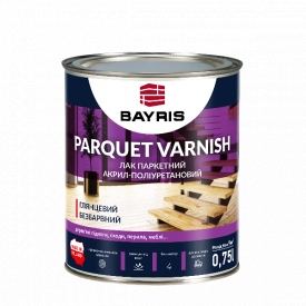 Лак паркетный Parquet Varnish Bayris глянец 0,75 л