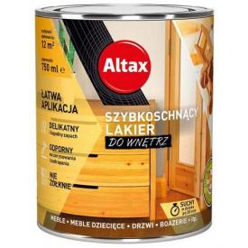 Лак быстросохнущий Altax глянец 0,75 л