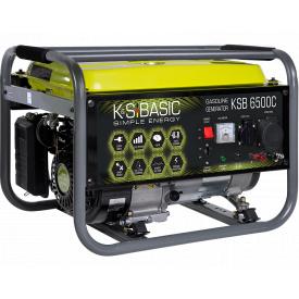 Генератор бензиновый Konner&Sohnen Basic KSB 6500C (5.5 кВт)