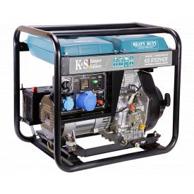 Генератор дизельный Konner&Sohnen Heavy Duty KS 6102HDE (Euro II) (5.5 кВт)