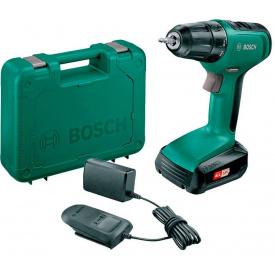Аккумуляторная дрель-шуруповерт Bosch UniversalDrill 18 (24 Н*м, 18 В, 1.5 А*ч) (06039C8004)