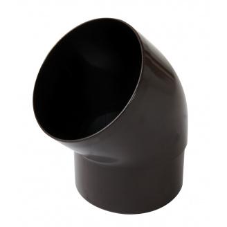 Відвід Nicoll 33 45° 100 мм коричневий