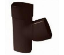Трійник 67° 30` Nicoll 28 OVATION 80 мм коричневий