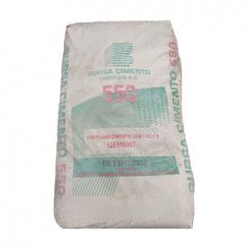 Серый цемент М550 Bursa Турция СЕМ І 42,5R 25кг пластик