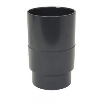 Муфта водостічної труби Nicoll чорний