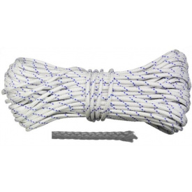 Шнур полипропиленовый плетеный D 6 мм 20 м (Украина) ВИСТ (69-683) шт